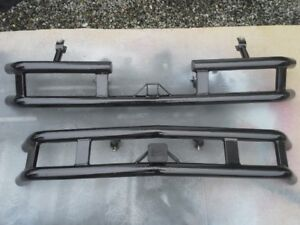 ATV BUMPERS AND FENDER PROTECTORS WITH REAR FOOTPEGS