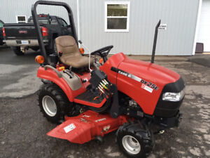 "Case DX25 Tractor with 54"" Mid Mower and 50"" Front Blower"
