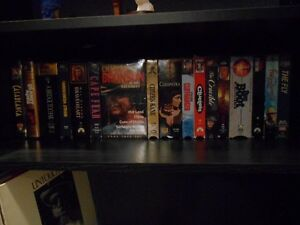 VHS Tape Lot - including clamshells, in wrapping, and more