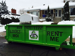 EconoBin Container Rental Lowest Price Location de Conteneurs Gatineau Ottawa / Gatineau Area image 3