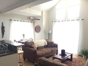 Furnished bedroom in beautiful Canmore condo!