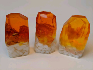Citrine, Handcrafted Soap, Gemstones, Gift Soaps