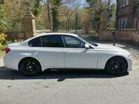 67 PLATE BMW 318d M SPORT DIESEL AUTO 54,261 MILES SAT NAV LED'S M PERFORMANCE