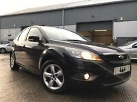 2009/09 Ford Focus 1.6 100ps Zetec 5 Door Met Panther Black S/HISTORY+ BIG SPEC!