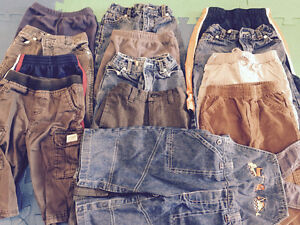 12 mos baby boy clothing, $2 item or $100 for all