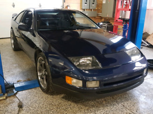 1990 Nissan 300zx 6 liter LS V8 POWERED! Manual Transmission!