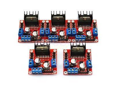 5pcs Stepper Motor Drive Controller Module L298n Dual H Bridge Dc For Arduino