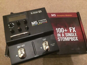 Line 6 M5 Multi-Effects Stompbox w/ Expression Pedal