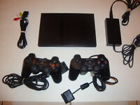 """PS2 Slim/Two Controllers/ Memory """"Card Included"""""""