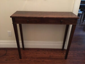Wooden Front Hall Table