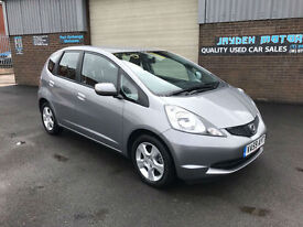 2009 HONDA JAZZ 1.4 ES i-VTEC 5 DOOR WITH ONLY 1 PREVIOUS OWNER,