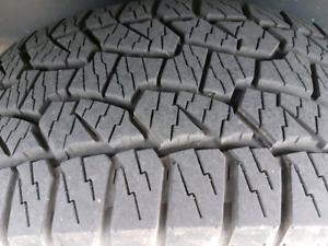 Dynapro ATM 275 55 20 truck tires F150 Tires as new.