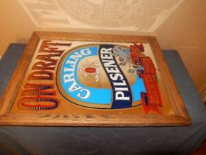 Vintage Collectable Bar Signs