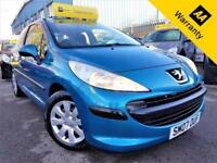 2007 PEUGEOT 207 1.4 S 3D 73 BHP! P/X WELCOME! 2 F/KEPPERS! LOW MILES! AIR-CON!