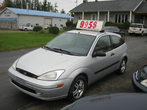 2001 Ford Focus ZX3 PETIT BUDGET !!!