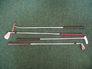 Putter and Pitching Iron x 2