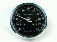 Cafe Racer Motorcycle Motogadget Speedometer instrument Chronoclassic