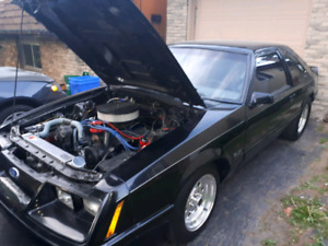 84 mustang gt NEW Built motor and trans 500km