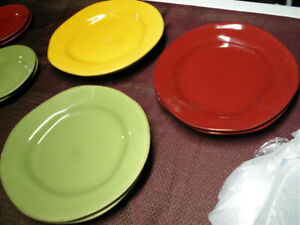 EARTHENWARE PLATES BY PIER 1 IMPORTS