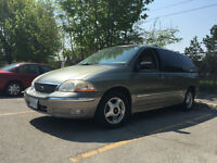 2003 Ford Windstar fully loaded and very low kms