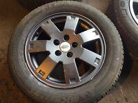 Ford 5 stud alloys freshly refurbished