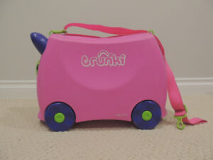 Trunki Ride-On Suitcase, Trixie Pink