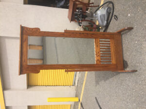 Mission Style Mirror with Stand. Mennonite made