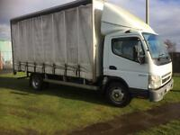2006 06 PLATE MITSUBISHI CANTER CURTAINSIDER NO VAT