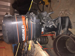 90hp power trim mariner outboard