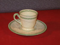 Rare Demi TORBAY Wedgewood Patrician Cup & Saucer