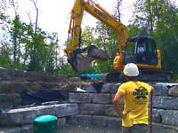 Armour Stone Retaining Walls & Landscapes