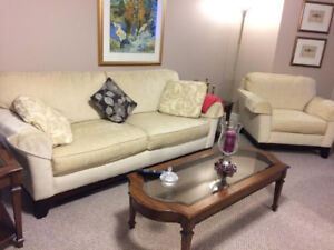 Sofa and Chair Coffee and End Tables