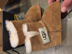 New Baby Ugg Boots - Infant Size Small (6-9 months)