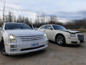 2007 cadillac sts4 and 05 chrysler 300
