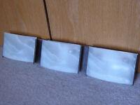 Vanguard 3 Light Bathroom Vanity Lights - 1 set