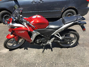 2012 Honda CBR 250 low mileage