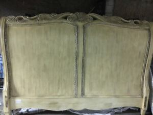 Beautiful pickled Headboard