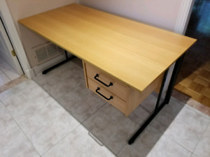 Wood desk buy and sell furniture in greater montréal kijiji