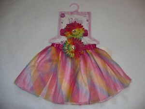 Super cute rainbow tutu and head piece