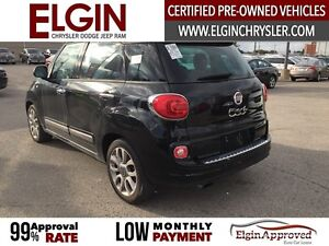 2015 FIAT 500L Lounge***Leather,Pano,Navi,B-up Cam*** London Ontario image 7