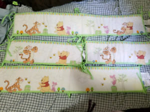 Whinnie the pooh crib bumpers
