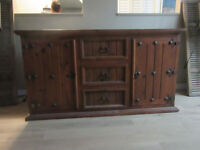 Rustic Mexican Sideboard