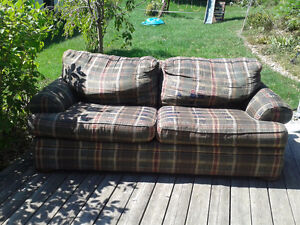 Very Comfortable But Very Well Used Couch Peterborough Peterborough Area image 1