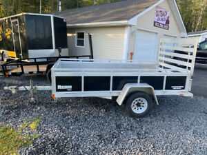2014 Mission 5x10 Aluminium Trailer