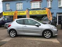 GOOD CREDIT CAR FINANCE AVAILABLE 2009 09 PEUGEOT 207 1.6HDi 90 Sport
