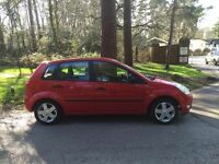 2002 Ford Fiesta 1,4 litre 5dr