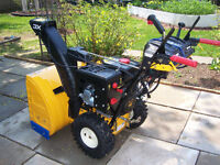 Almost New Condition Snowblower