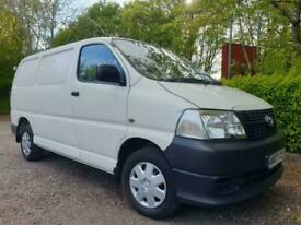 2007 Toyota Hiace 280 Van 2.5 D-4D 95hp PANEL VAN Diesel Manual