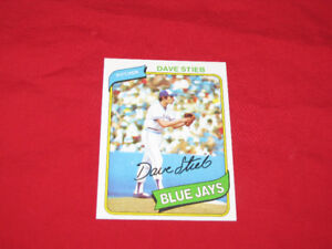 58 Topps Blue Jays cards, 1977-80, incl. Stieb rookie card