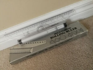 NEW Multi-Purpose Rolling Ruler Compass Drafting